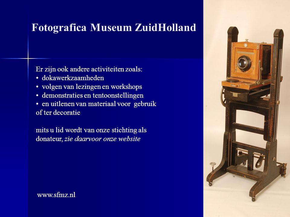 Dit was een korte impressie van wat er allemaal te zien is Fotografica Museum ZuidHolland