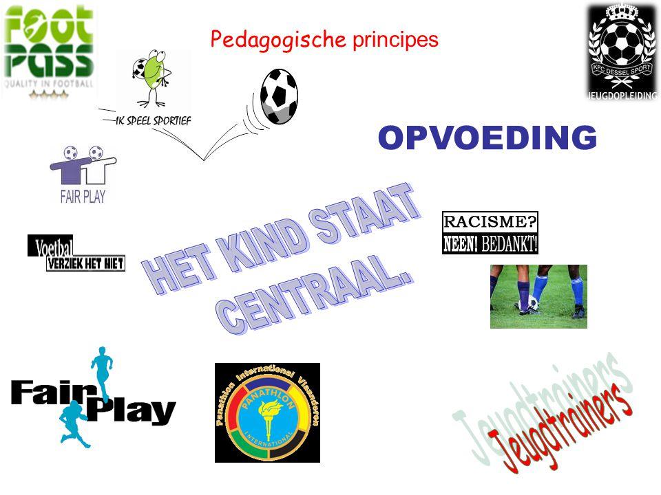 OPVOEDING Pedagogische principes