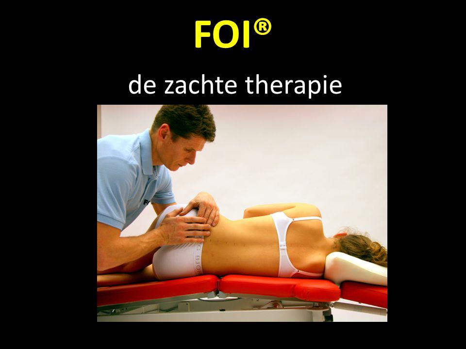 FOI® behandelt de systematische verbindingen. b.v. bekken en borstwervelkolom