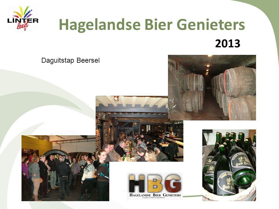 2013 Hagelandse Bier Genieters Daguitstap Beersel