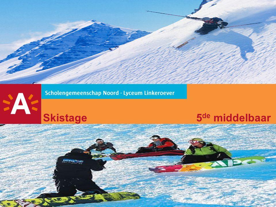 2 Agenda -Begeleiding -Concept / doel -Info skigebied -Verblijf -Vertrek / aankomst en bagage -Afspraken en leefregels -Afspraken op de bus -Afspraken op de piste -Afspraken rond alcohol / tabak en drugs