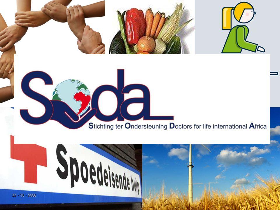 2 Soda – Hoe het begon  2008  Ondernemers  Doel  bouw kliniek in Zavora