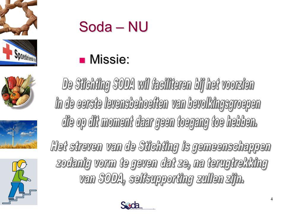 4 Soda – NU  Missie: