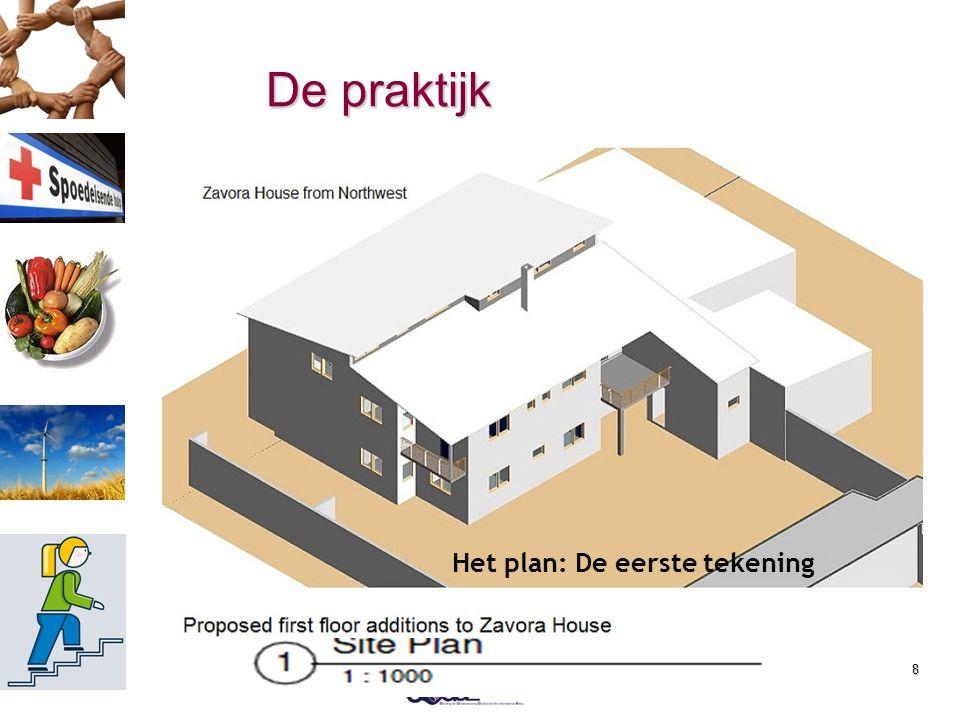 8 De praktijk  Bouw Vaccinatie ruimte en tandarts gebouwtje  Verbouw Gastenverblijf  2012 fase 1: dak  2013 fase 2: inrichting Hoe het was Decembe