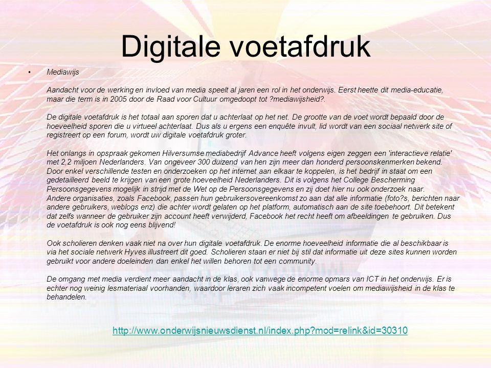 di 10 feb 2009, 12:55 | 0 reacties •Akkoord over veiliger sociaal netwerken BRUSSEL - Op initiatief van de Europese Commissie hebben zeventien Europes