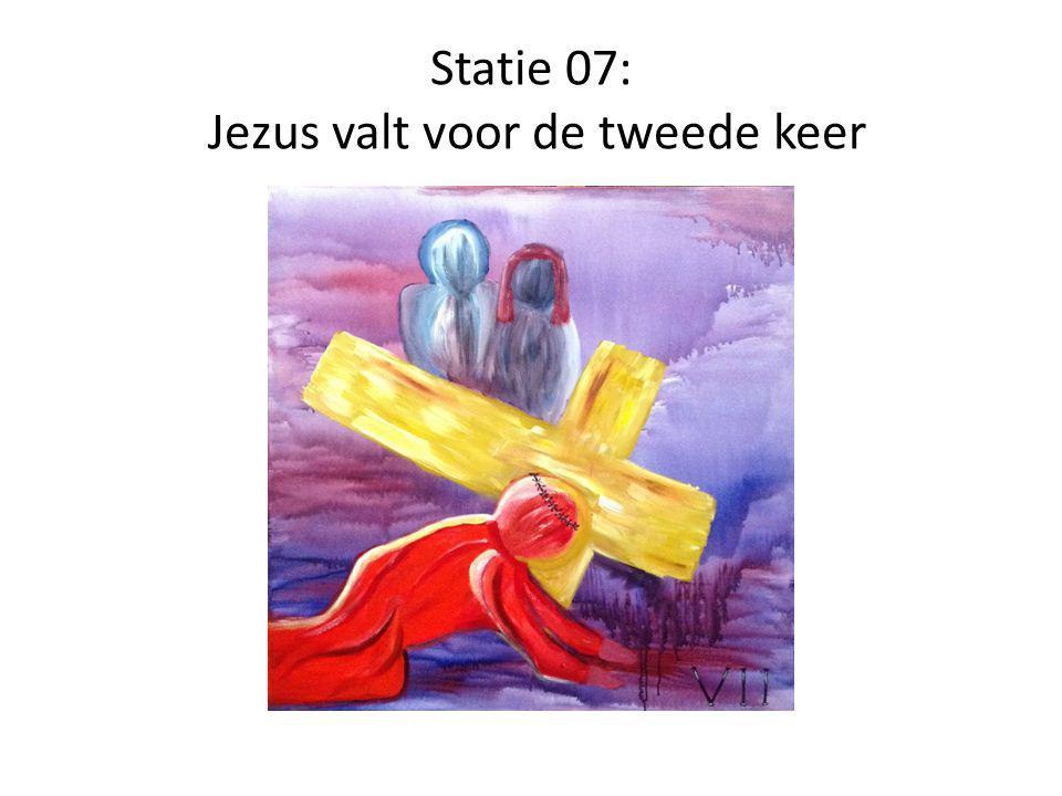 Statie 08: Jezus troost de huilende vrouwen