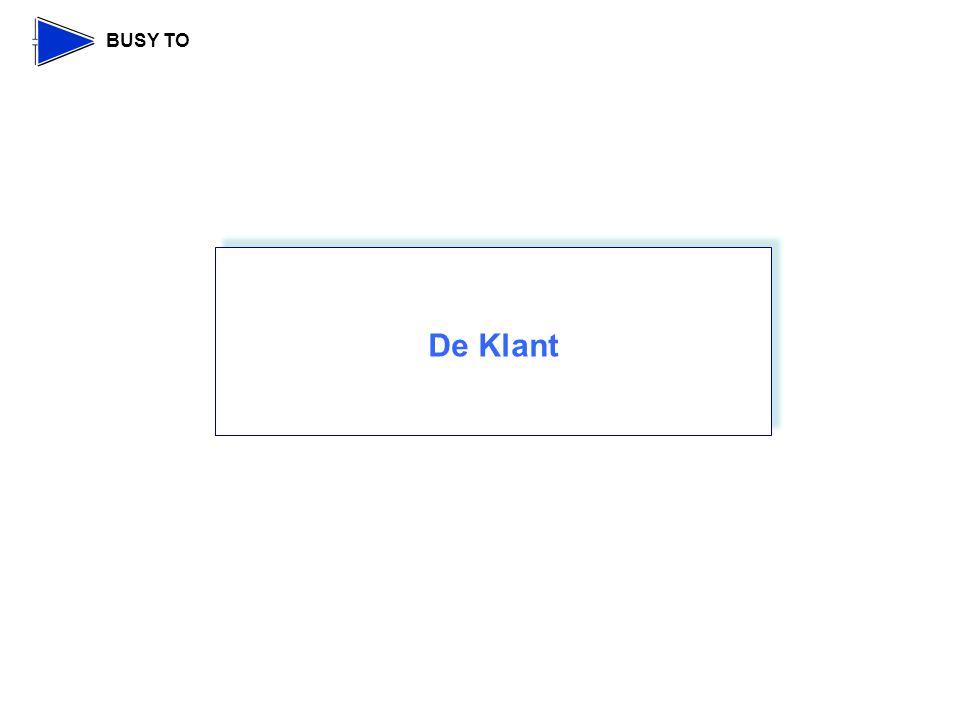 BUSY TO De Klant