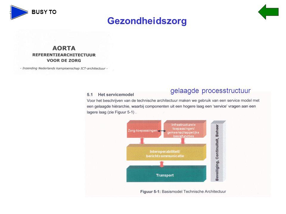 BUSY TO gelaagde processtructuur Gezondheidszorg