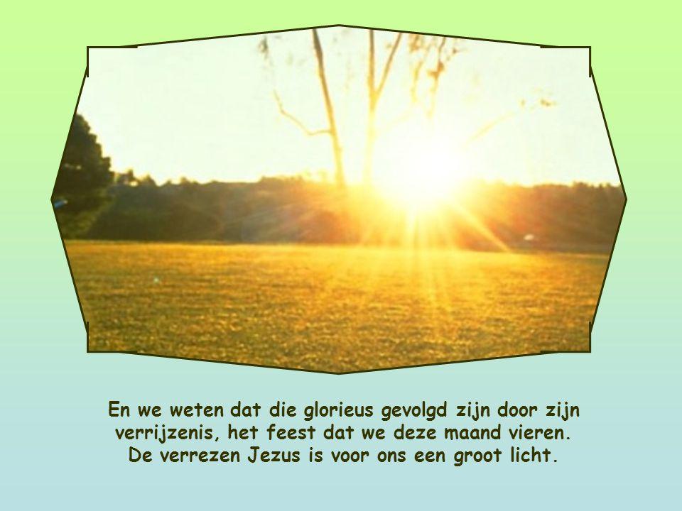 Jezus beantwoordde heel zijn leven aan wat God van Hem vroeg. In die zin is niets in zijn leven zomaar gebeurd, ook zijn lijden en dood niet.