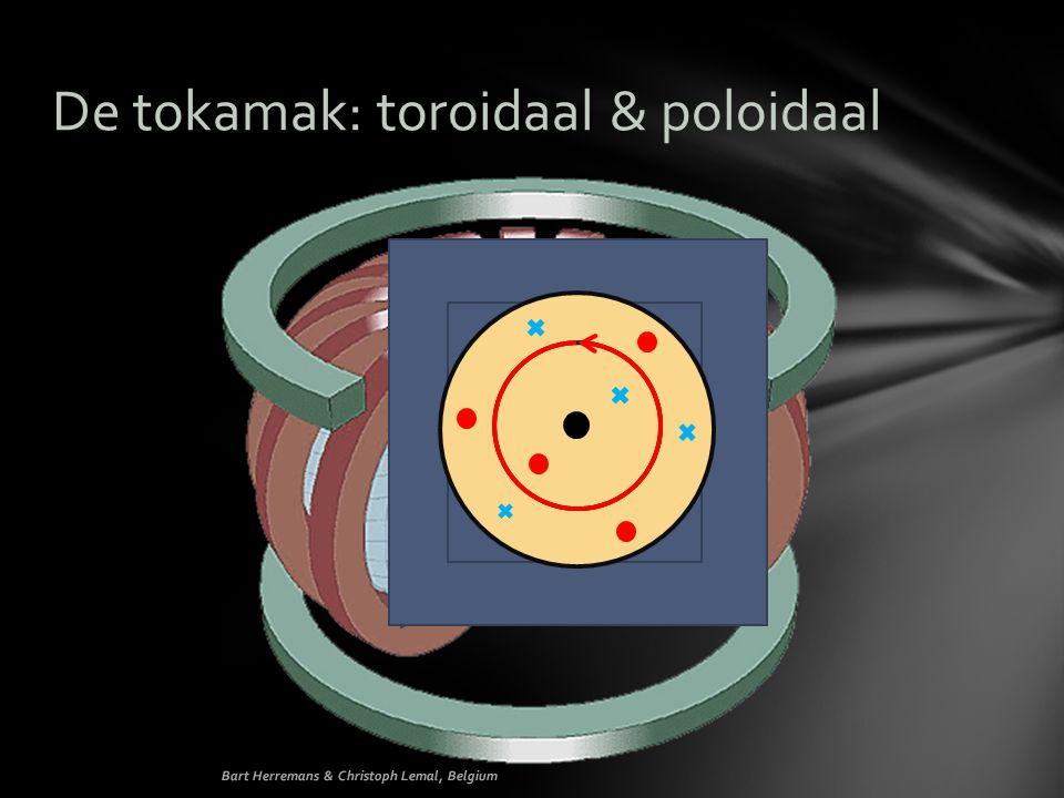 De tokamak: toroidaal & poloidaal Bart Herremans & Christoph Lemal, Belgium