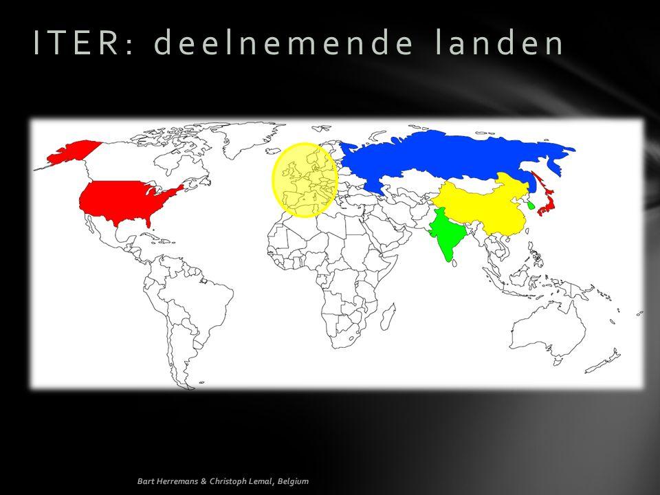 ITER: deelnemende landen Bart Herremans & Christoph Lemal, Belgium