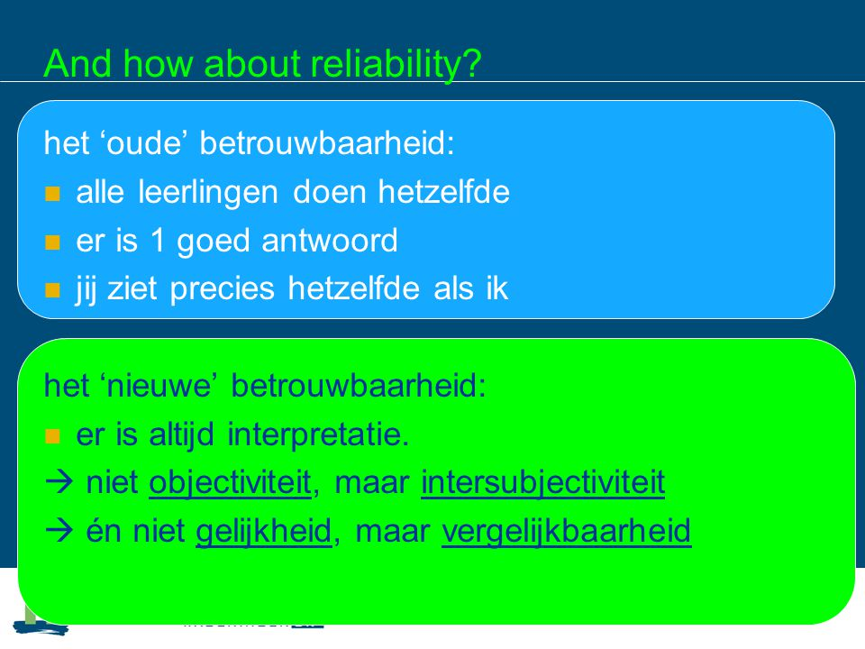 And how about reliability.