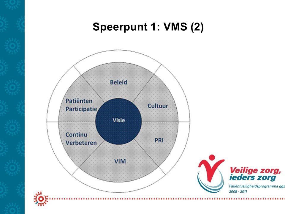 Speerpunt 1: VMS (2)