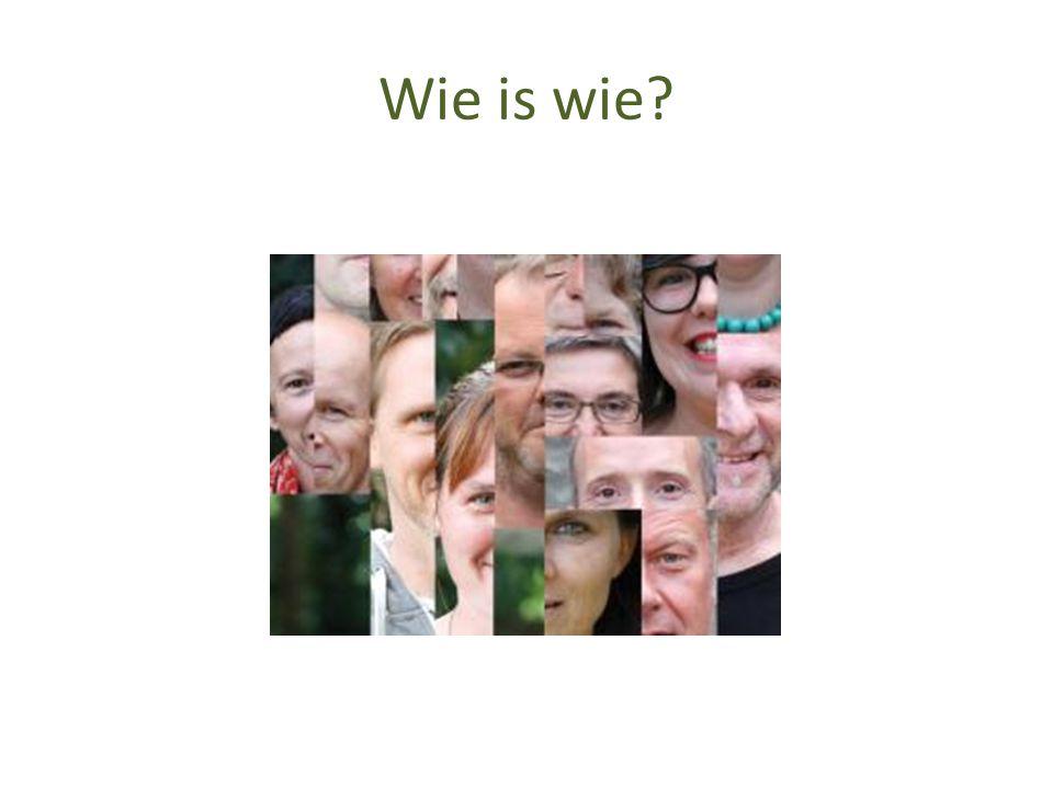 Wie is wie