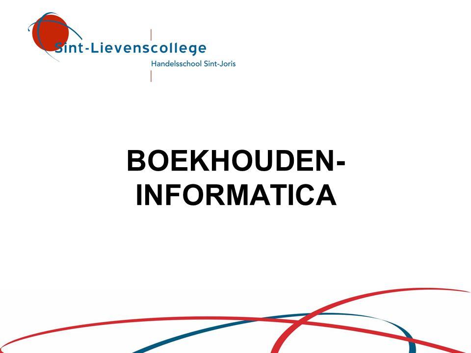 BOEKHOUDEN- INFORMATICA