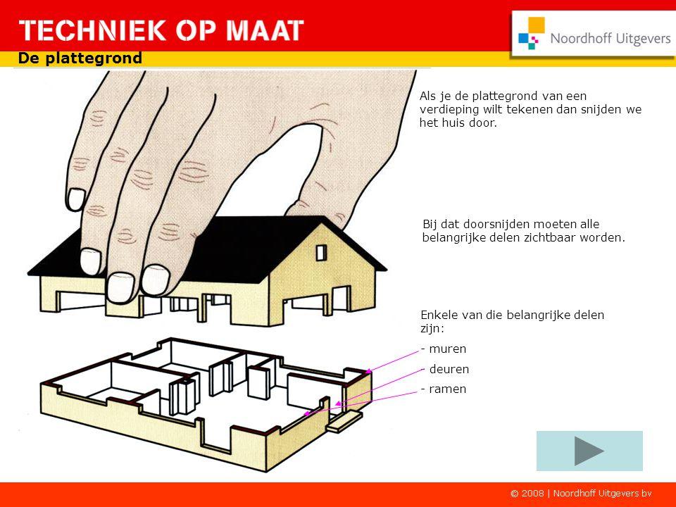 Bij het tekenen van een plattegrond van een huis (zoals hieronder) doe je dat ook. Hier gebruik je wel een veel kleinere schaal bijvoorbeeld: * Schaal