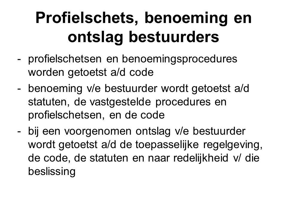 Inwerkingtreding -Lvo treedt inwerking een (1) dag na afkondiging -ONV's/OST's dienen op dat moment reeds te voldoen a/d wetgeving e/d code -Uitzonderingsgevallen (gehoord de Adviseur) aanpassing statuten binnen 6 maanden na afkondiging -Land heeft wetgeving en code reeds geintroduceerd als beleid