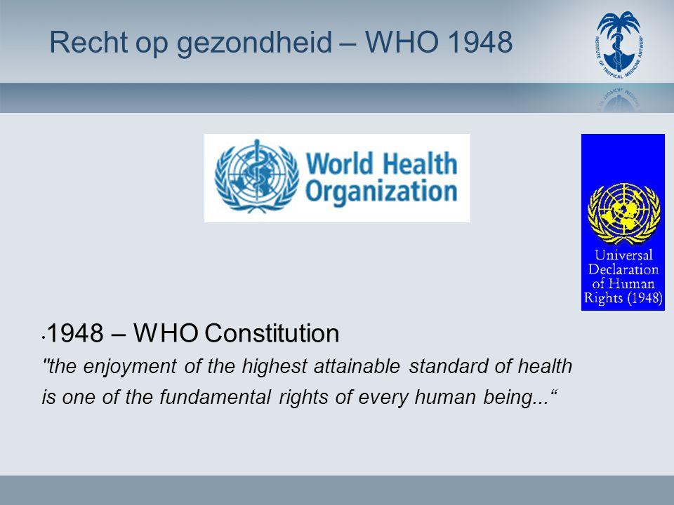 • Recht op gezondheid – SSS & WHO – Health for All – Investing in health – WHO 2008 • Colombia versus Cuba • Cubaanse visie op gezondheid – SDH – Pre 89 – Post 89 – Internationale solidariteit • Cuba vandaag