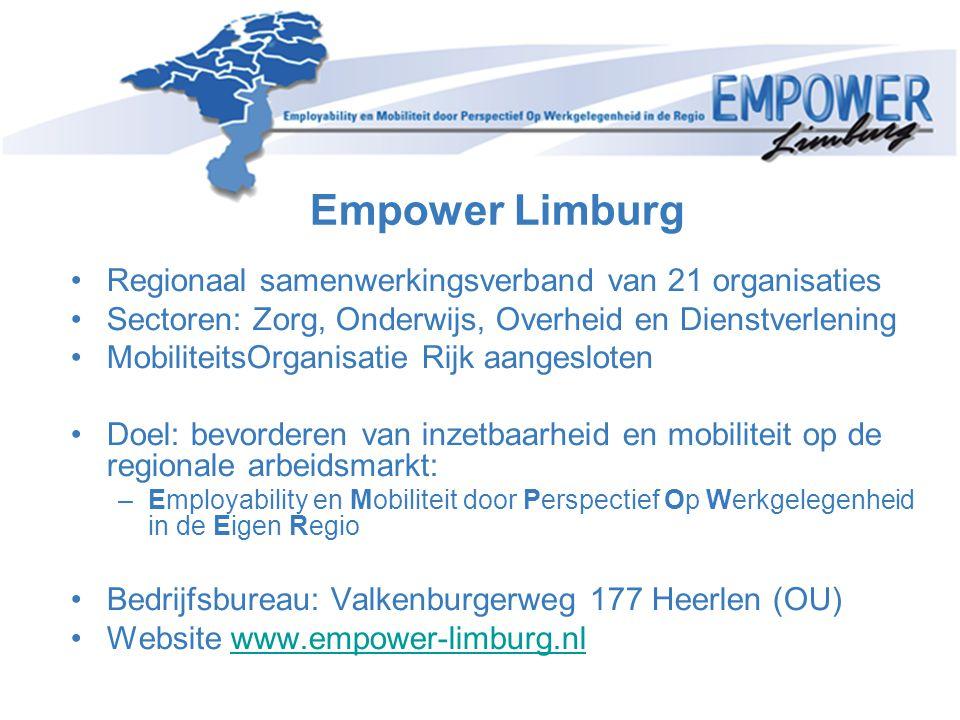 •Regionaal samenwerkingsverband van 21 organisaties •Sectoren: Zorg, Onderwijs, Overheid en Dienstverlening •MobiliteitsOrganisatie Rijk aangesloten •