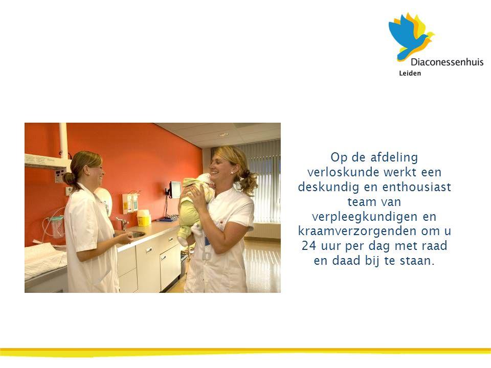 Op de afdeling verloskunde werkt een deskundig en enthousiast team van verpleegkundigen en kraamverzorgenden om u 24 uur per dag met raad en daad bij