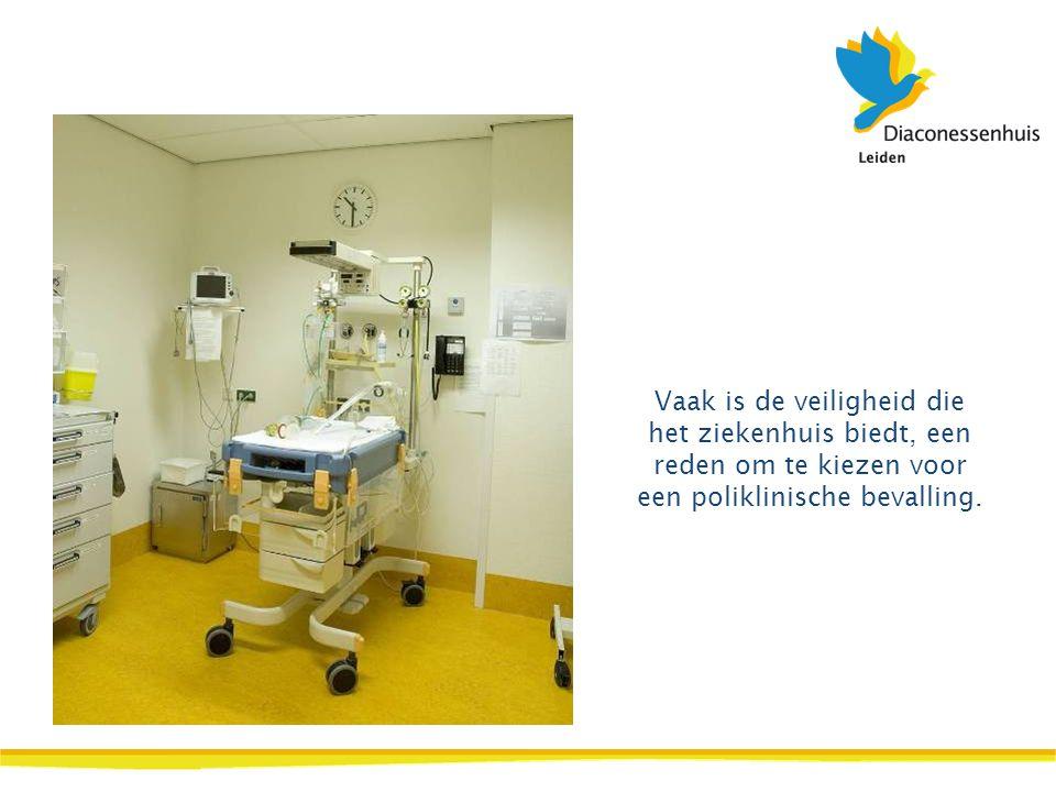 Vaak is de veiligheid die het ziekenhuis biedt, een reden om te kiezen voor een poliklinische bevalling.