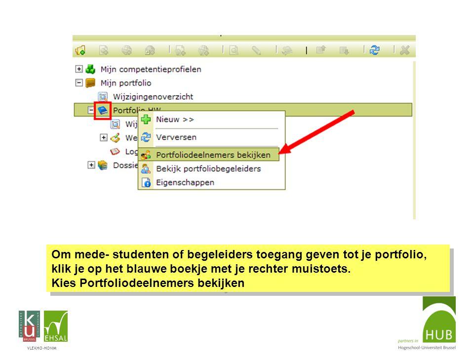 VLEKHO-HONIM Om een document in N@tschool te bekijken of te downloaden naar je PC, klik nu met de rechter-muisknop waarin deze en andere opties beschi