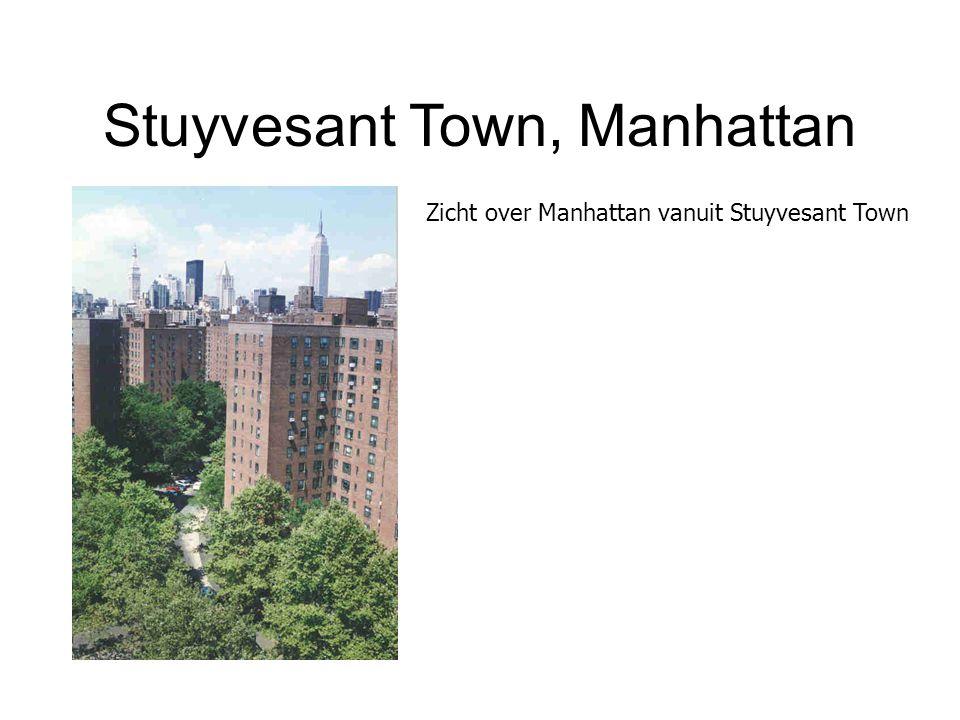 Stuyvesant Town, Manhattan Zicht over Manhattan vanuit Stuyvesant Town