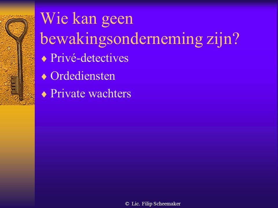 © Lic. Filip Scheemaker Begeleiding van groepen van personen met het oog op de verkeersveiligheid  Het gaat om begeleiding van bepaalde groepen : –fi