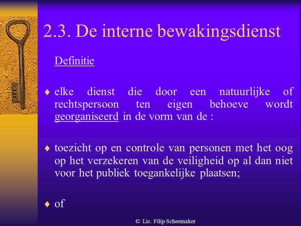 © Lic.Filip Scheemaker Wat zijn alarmsystemen en – installaties.