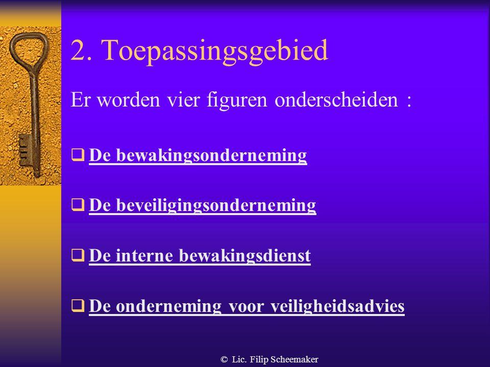 © Lic. Filip Scheemaker Doelstellingen laatste wetswijziging van 2004  de politiediensten ontlasten van taken die geen essentiële politietaken zijn d