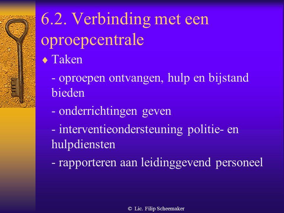 © Lic. Filip Scheemaker 6.1. Algemeen De bronnen van de middelen en methoden inzake bewaking - de Koning - de minister van Binnenlandse Zaken