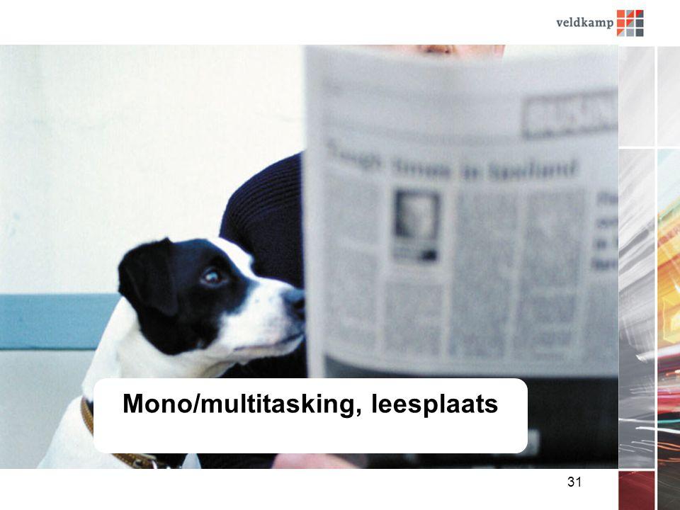 31 Mono/multitasking, leesplaats