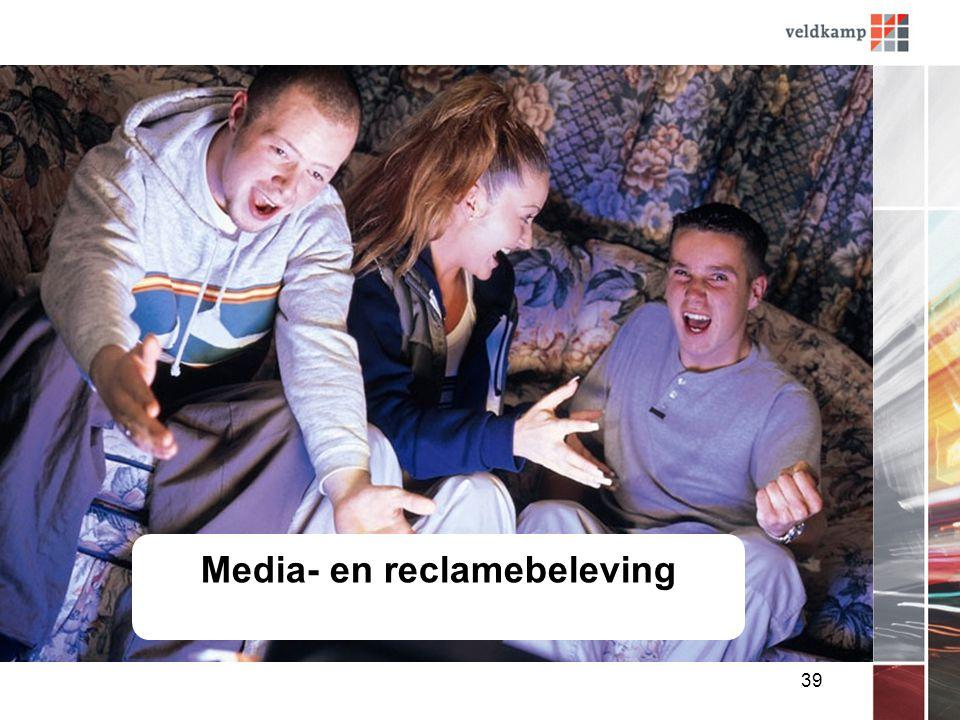 39 Media- en reclamebeleving