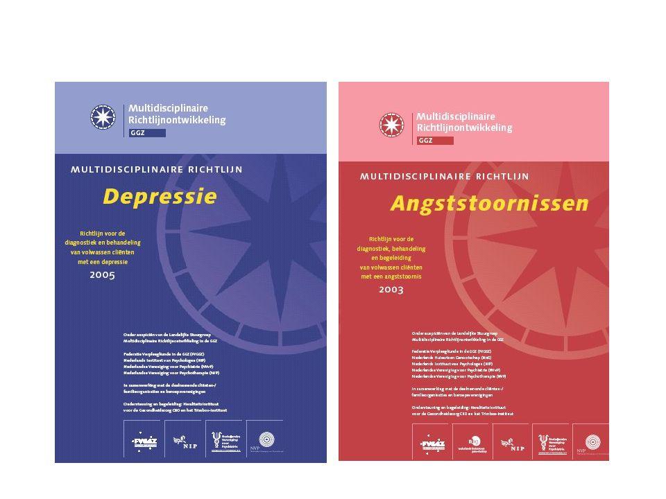 Besluit-V Vergeleken met depressie geeft collaborative care een snellere verbetering van angstklachten Er wordt meer evidence-based behandeld