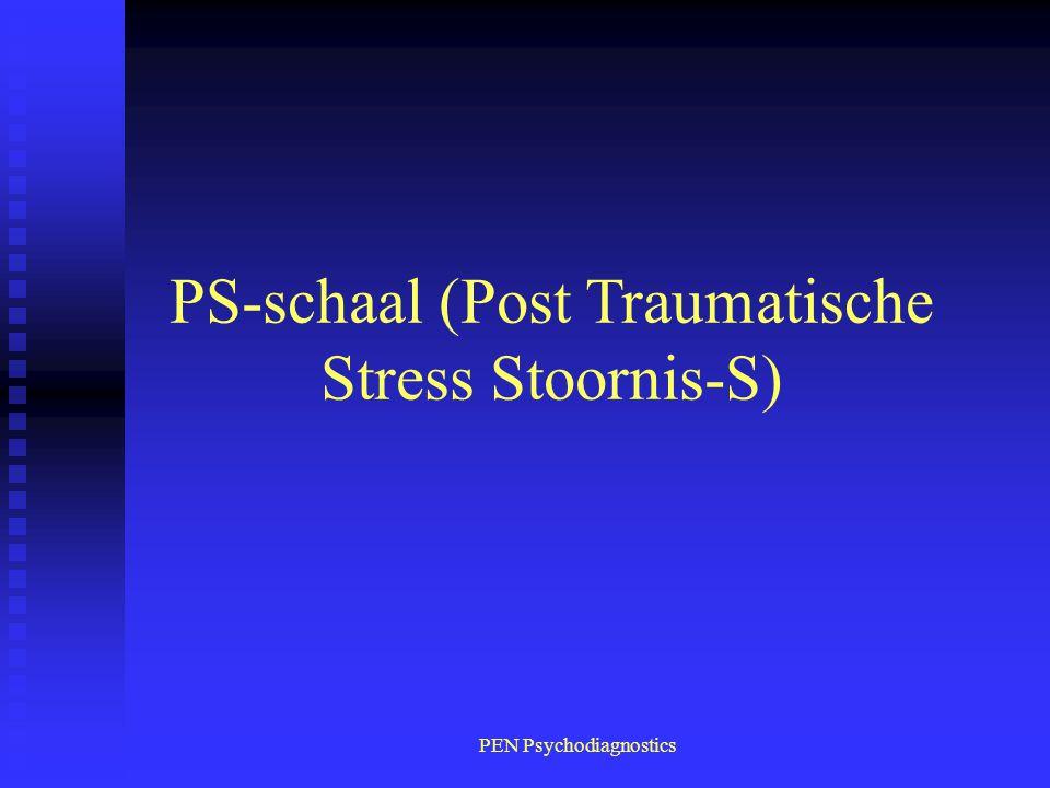 PEN Psychodiagnostics PS-schaal (Post Traumatische Stress Stoornis-S)