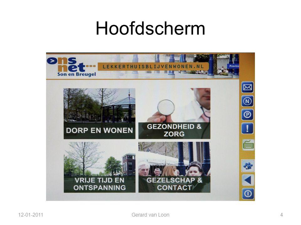 Hoofdscherm 12-01-2011Gerard van Loon4
