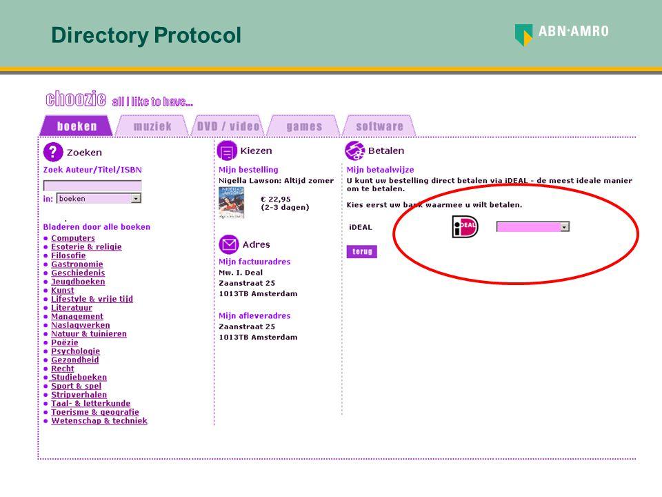 . Directory Protocol