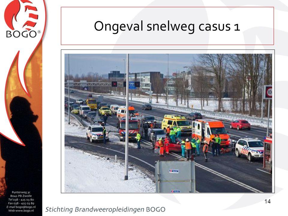 Ongeval op snelweg casus 2 15