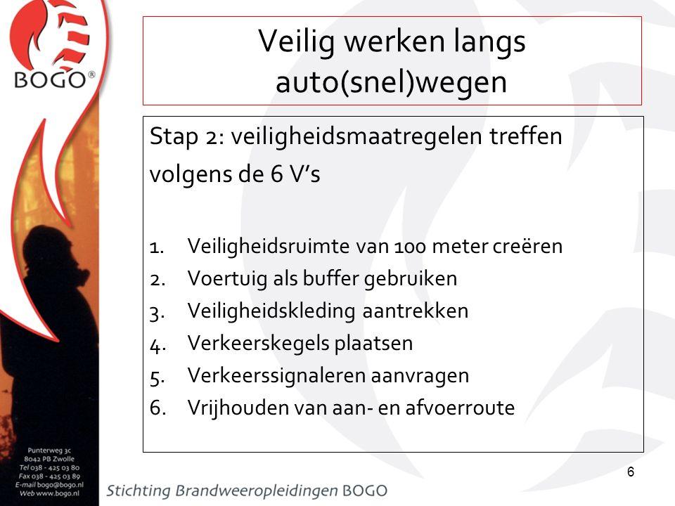 Veilig werken langs auto(snel)wegen 1.