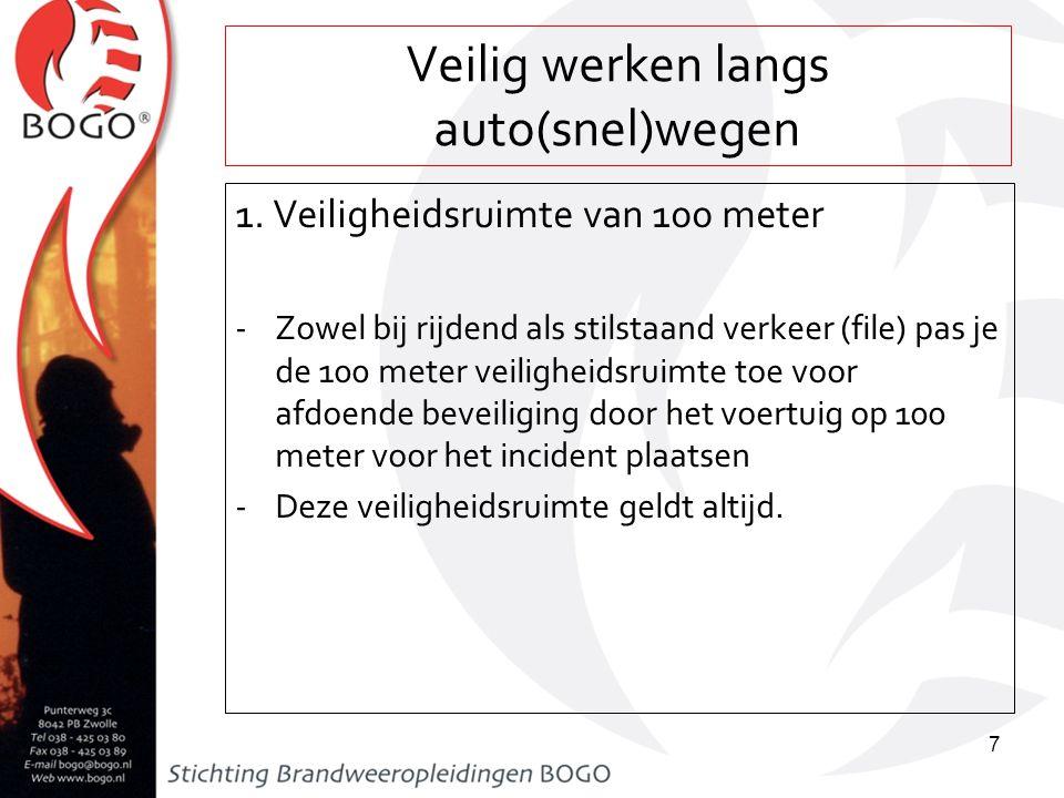Veilig werken langs auto(snel)wegen 2.