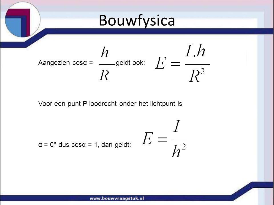 Bouwfysica algemene verlichtingsformule: voor de berekening van de verlichtingssterkte E in een punt P, als gevolg van de luminantie van één of meerdere vlakken.