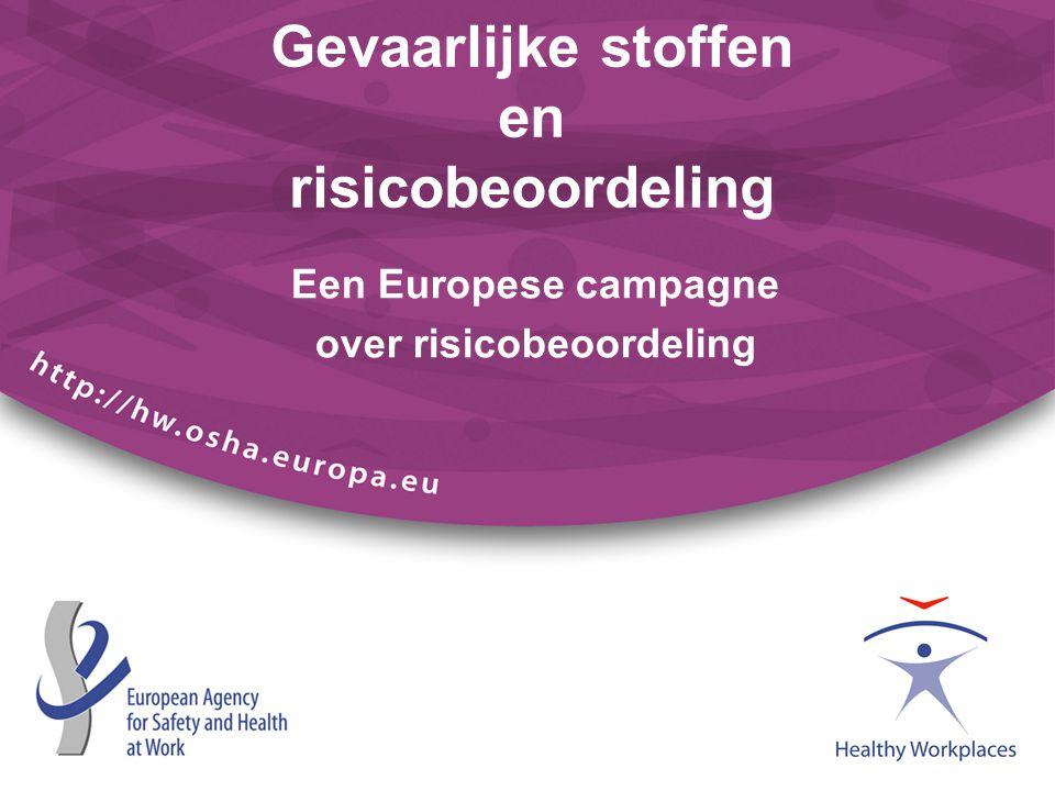 Gevaarlijke stoffen en risicobeoordeling Een Europese campagne over risicobeoordeling