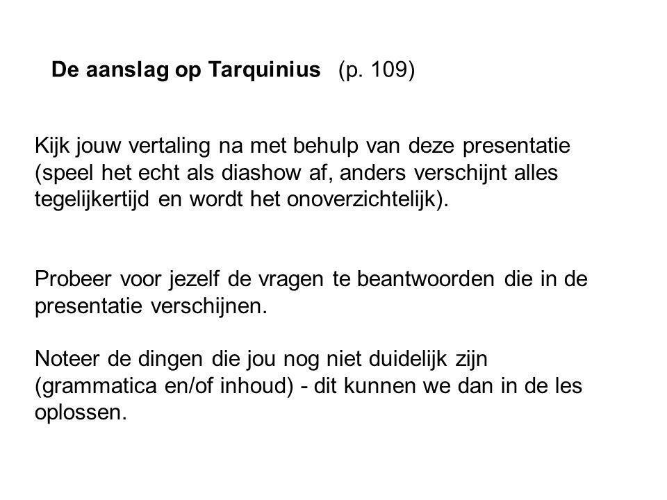 De aanslag op Tarquinius 1.40 4-7 (p.