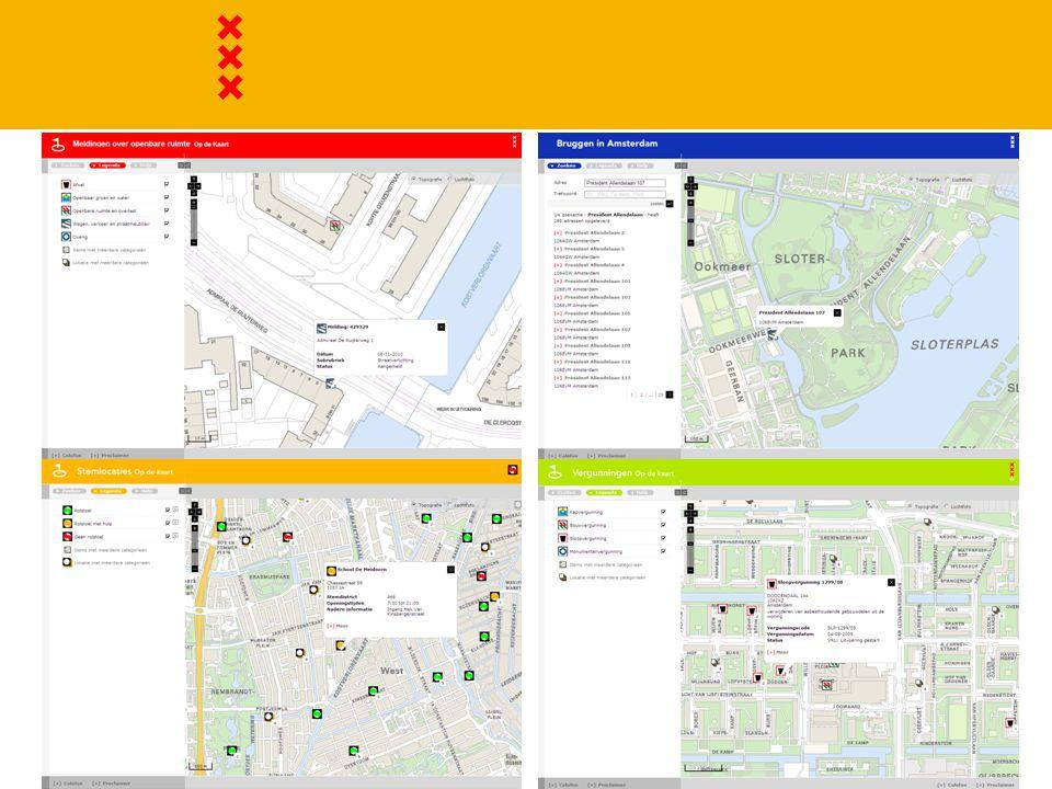 Huidige rolverdeling  DPG als eigenaar  DPG als leverancier basisregistraties  DPG als adviseur (kartografische) vormgeving  DFM als promotor  InfoProjects als ontwikkelaar en helpdesk  Deelnemer: inhoud, layout (binnen het raamwerk)