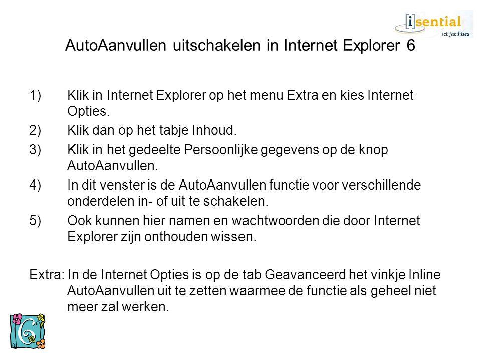 Internet Explorer 6: