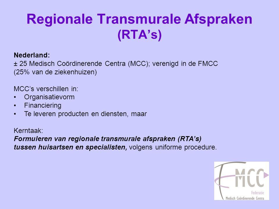 Voorbeelden van substitutie (1) RTA chronische nierschade: Doelstelling: Afstemming beleid rond diagnostiek, behandeling en verwijzen van patiënten met chronische nierschade in 1e en 2e lijn.