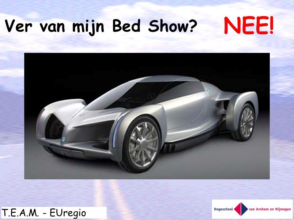 T.E.A.M. - EUregio Ver van mijn Bed Show? NEE!