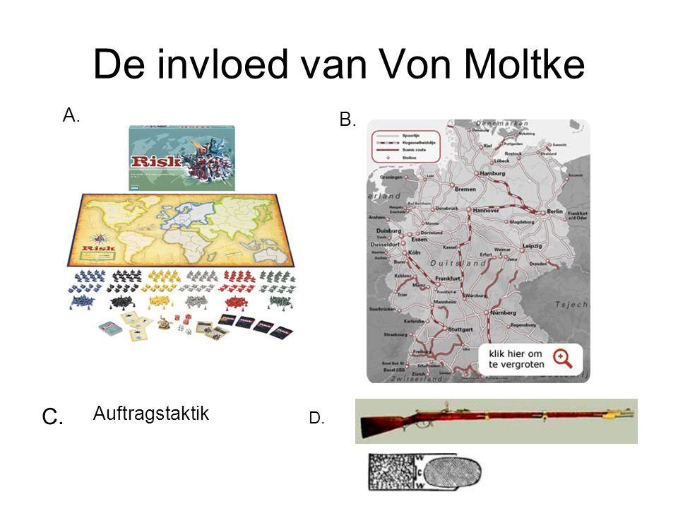 De invloed van Von Moltke A. B. C. D. Auftragstaktik