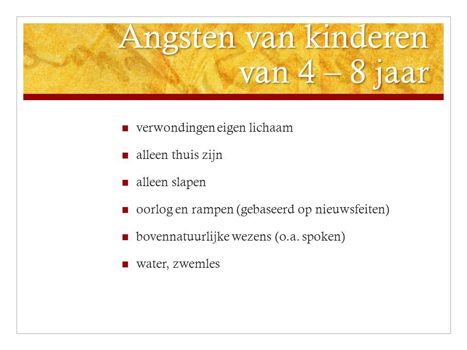 Meer informatie over bang-zijn Meer informatie over bang-zijn  www.bibbers.nl www.bibbers.nl Site voor kinderen, ouders en andere verzorgers / opvoeders over angst  www.opvoedadvies.nl www.opvoedadvies.nl Site van orthopedagoge met artikelen over verschillende onderwerpen, o.a.
