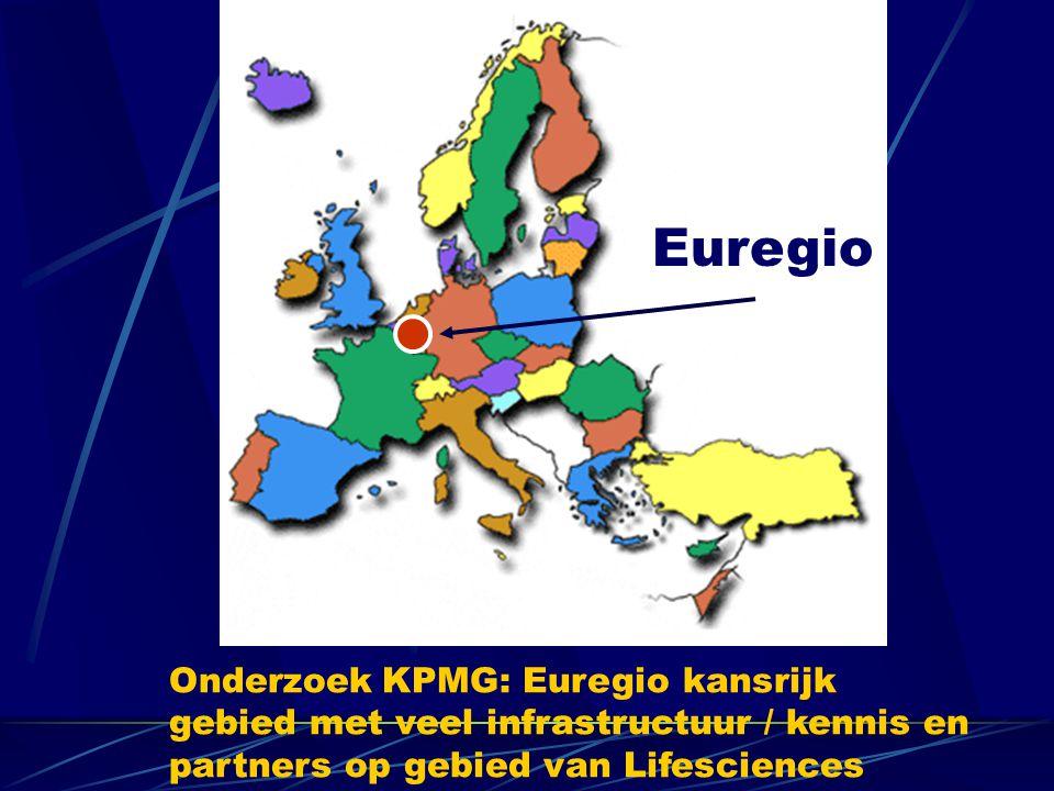 Euregio Onderzoek KPMG: Euregio kansrijk gebied met veel infrastructuur / kennis en partners op gebied van Lifesciences